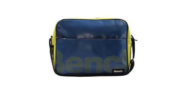Modro-žltá taška cez rameno Bench