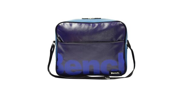 Modrá taška cez rameno Bench