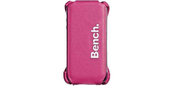 Ružové kožené púzdro na iPhone Bench