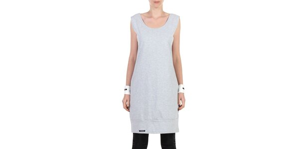 Dámske šedé športové šaty Yuliya Babich