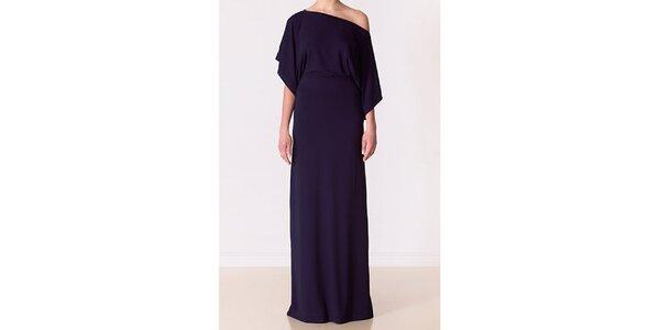 Dámske temno modré večerné šaty Yuliya Babich