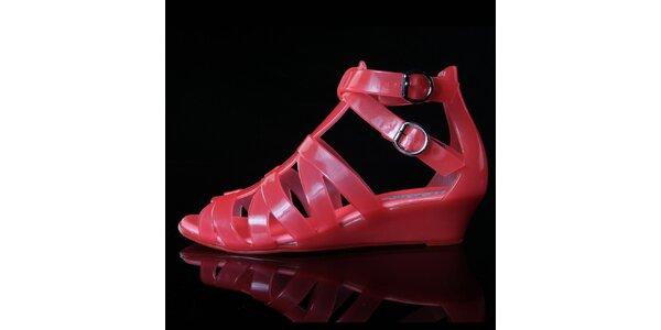 Dámske korálové sandálky Melissa