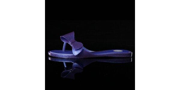 Dámske fialové žabky Melissa