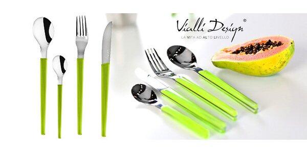 Sada 24 príborov Vialli Design pre hravé stolovanie