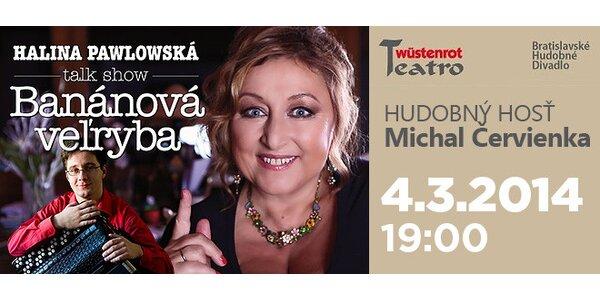 Divadelná show Haliny Pawlowskej