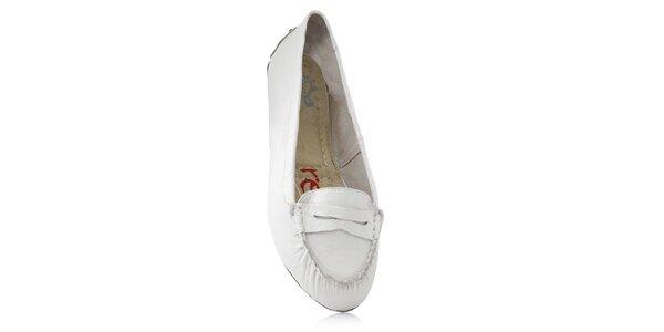 Dámske biele skladacie baleríny RedFoot