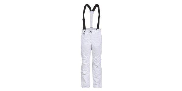 Dámske biele lyžiarske nohavice Envy - predĺžená dĺžka