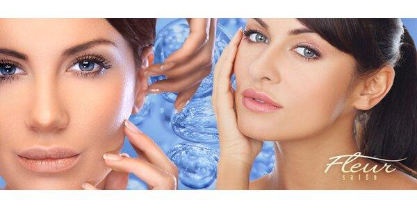 Kyslíková maska a masáž tváre