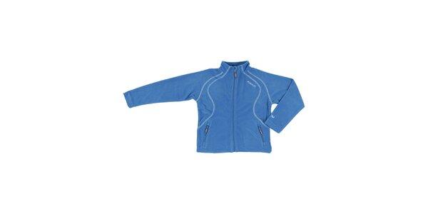 Unisex modrá fleecová mikina E2KO