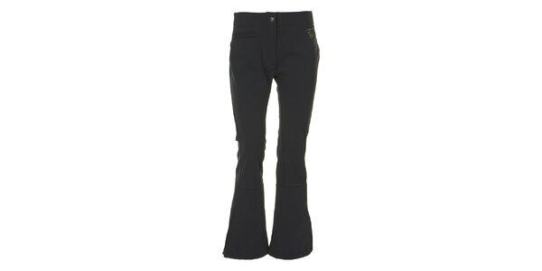 Dámske čierne lyžiarske nohavice E2KO