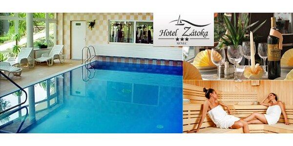 Luxusný pobyt pre 2 osoby na 3, 4 alebo 5 dní v Hoteli Zátoka*** Senec