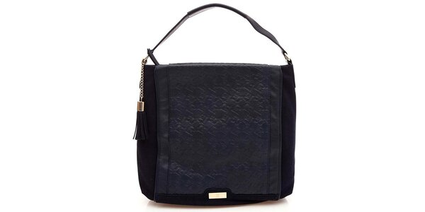 Dámska tmavo modrá taška Paris Hilton