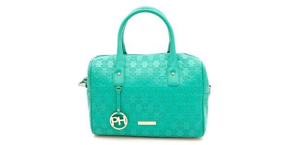 Dámska tyrkysová kufríková kabelka Paris Hilton