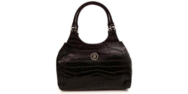 Dámska čierna elegantná kabelka Paris Hilton