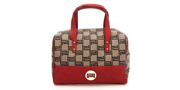 Dámska kabelka s červenými prvkami Paris Hilton
