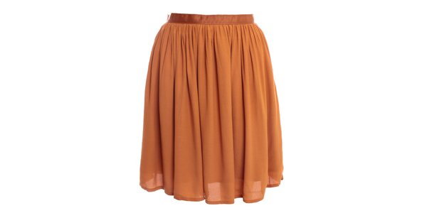 Dámska béžová sukňa 2two