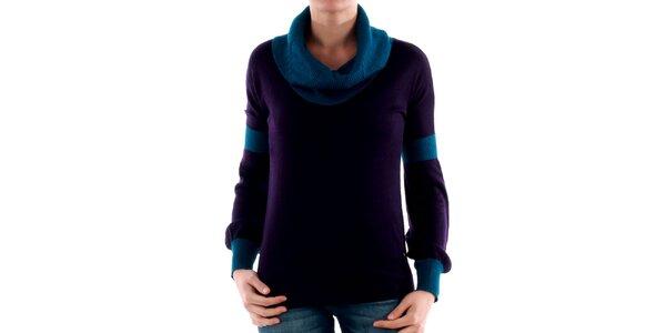 Originálny dámský fialový sveter Amy Gee