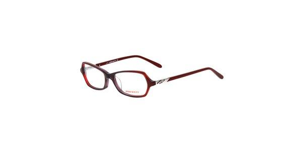 Dámske červené okuliare Miss Sixty