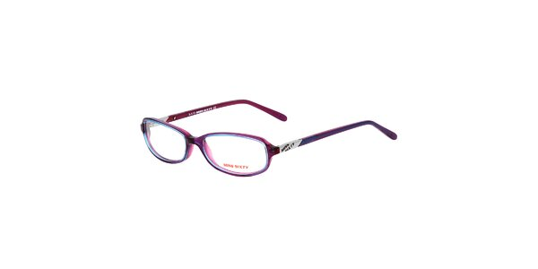 Dámske tenké fialkové okuliare Miss Sixty