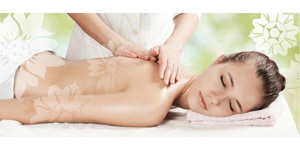 Klasická celotelová masáž