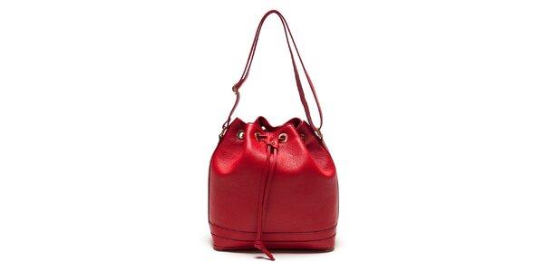 Dámska červená vaková kabelka Roberta Minelli