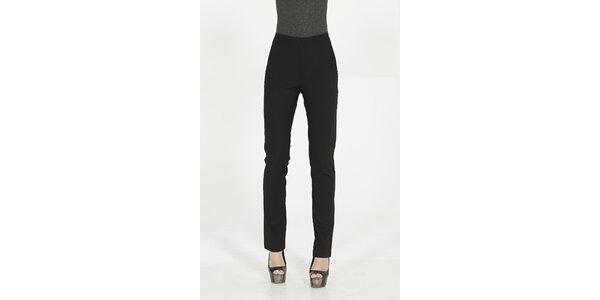 Dámske čierne elegantné nohavice Gene