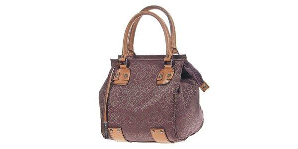 Dámska kabelka s potlačou a visačkou Calvin Klein