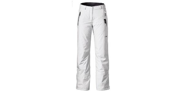 Dámske biele nohavice na lyže Maier