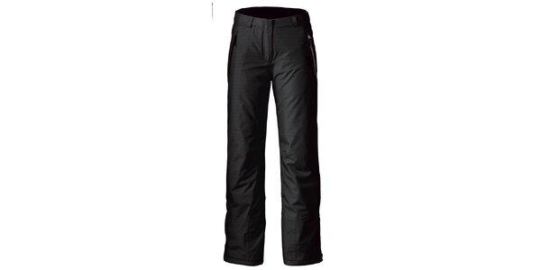 Dámske čierne nohavice na lyže Maier