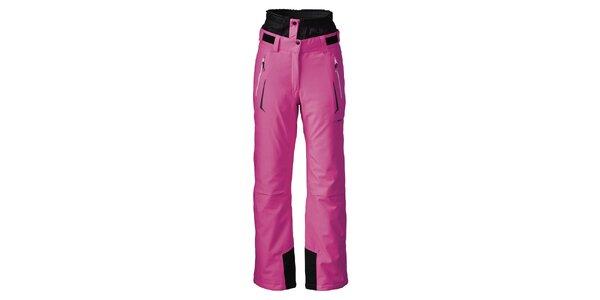 Dámske žiarivo ružové lyžiarske nohavice Maier