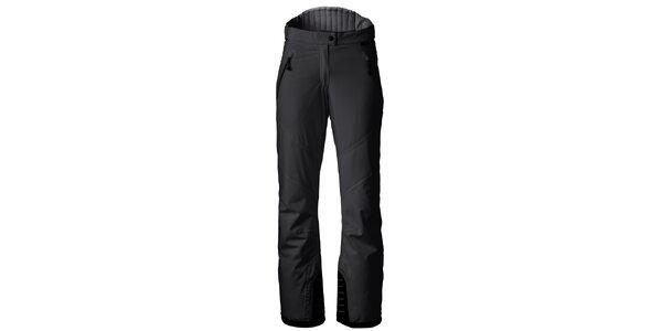 Dámske čierne strečové lyžiarske nohavice Maier