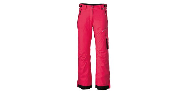 Dámske červené lyžiarske nohavice Maier