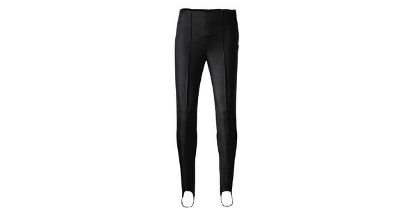 Dámske čierne elastické nohavice Maier