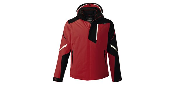 Pánska funkčná červená bunda Maier