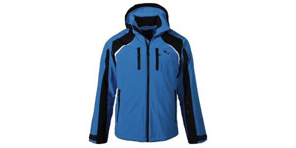 Pánska modro-čierna lyžiarska bunda Maier