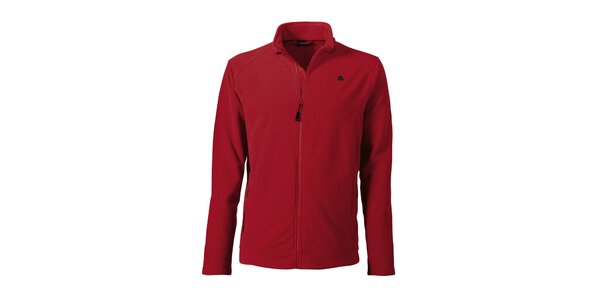 Pánska červená fleecová bunda Maier