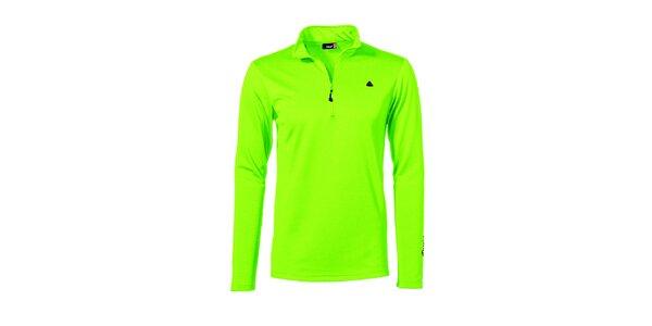 Pánska svetlo zelená športová mikina Maier