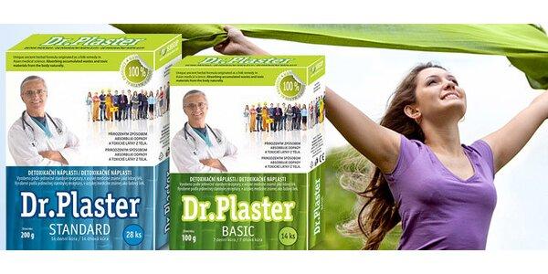 Detoxikačné náplasti Dr. Plaster. 3+1 balenie zadarmo