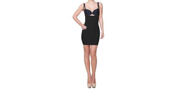 Dámske čierne sťahovacie šaty My Shapes