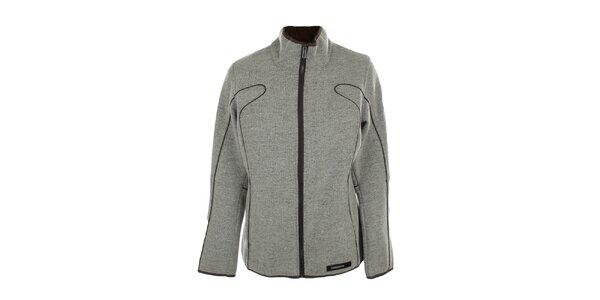 Dámska svetlo šedá fleecová bunda Northland Professional