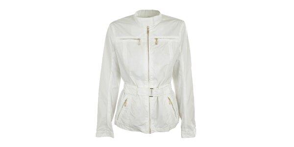 Dámska biela bunda s opáskom Northland Professional