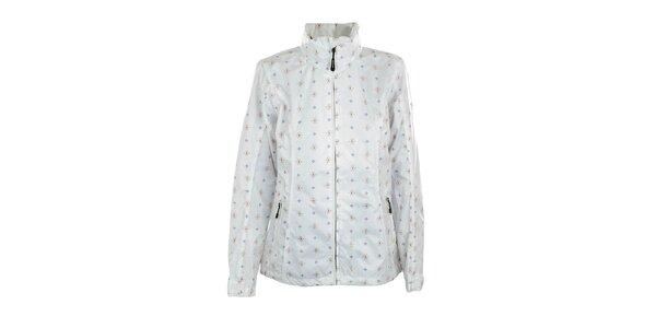 Dámska ľahká biela bunda s potlačou Northland Professional