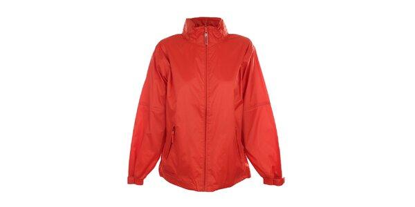 Dámska červenooranžová nepremokavá bunda Northland Professional