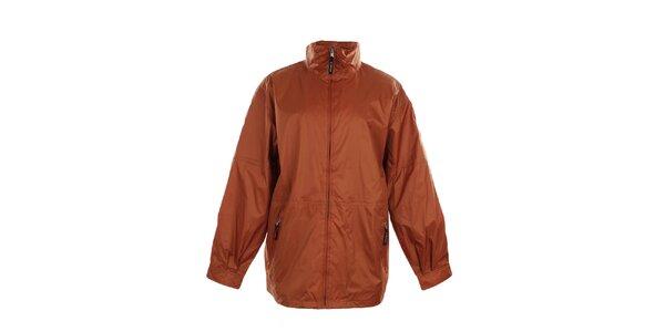 Pánska ľahká oranžová bunda do dažďa Northland Professional