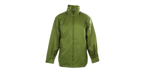 Pánska ľahká zelená bunda do dažďa Northland Professional