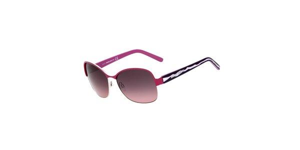 Dámske fialovo-ružové slnečné okuliare Miss Sixty