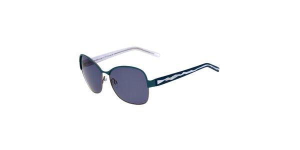 Dámske tyrkysovo-modré kovové okuliare Miss Sixty