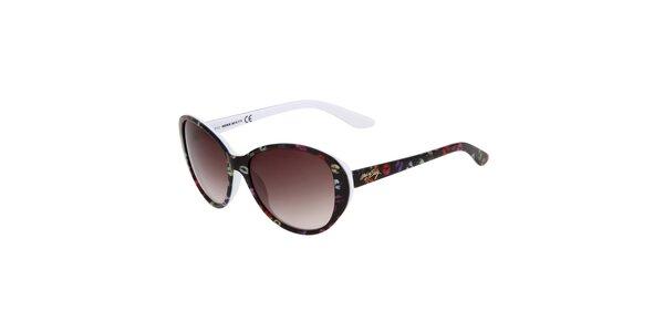 Dámske oválne farebné slnečné okuliare Miss Sixty