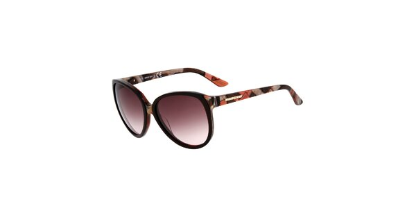 Dámske retro okuliare s fialovými sklíčkami Miss Sixty