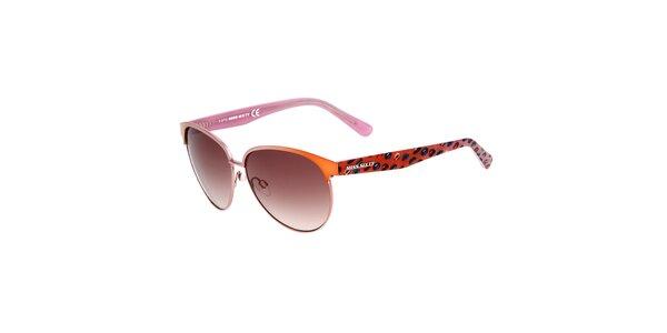 Dámske oranžovo-ružové slnečné okuliare Miss Sixty